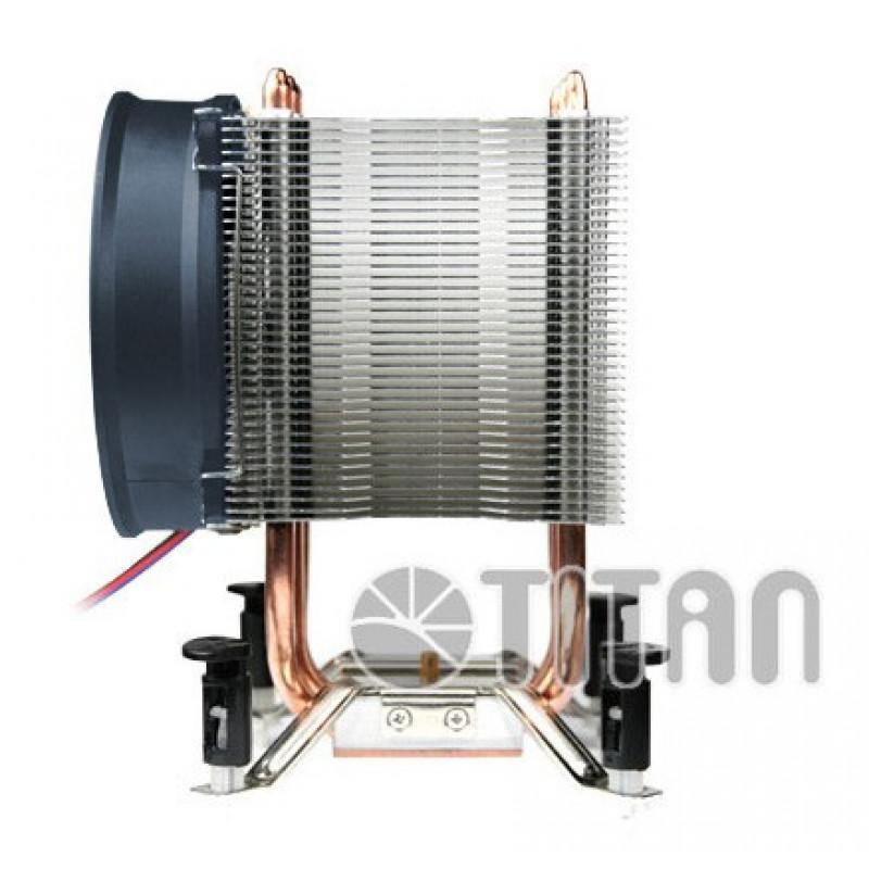 Устройство охлаждения(кулер) Titan TTC-NK35TZ/RPW(KU) Soc-AM4/AM3+/1150/1151/1200 4-pin 10-27dB Al+Cu 140W Ret