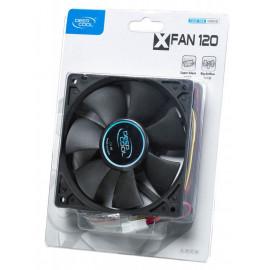 Вентилятор Deepcool XFAN 120 120x120x25mm 3-pin 4-pin (Molex)24dB 180gr Ret