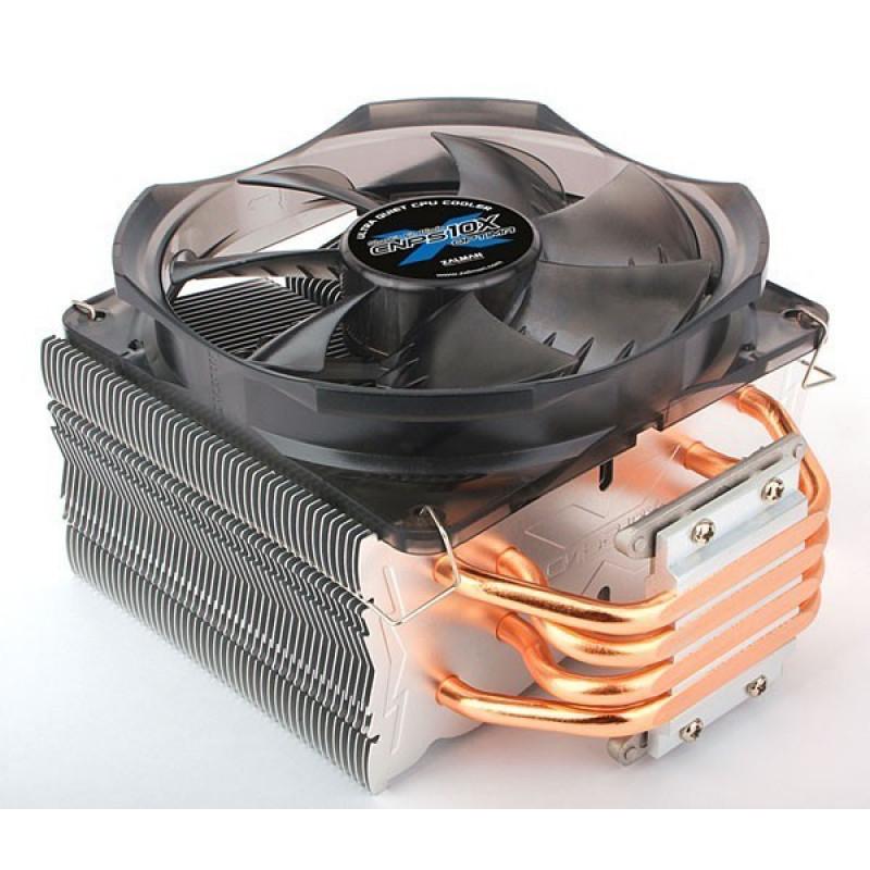 Устройство охлаждения(кулер) Zalman CNPS10X Optima Soc-FM2+/AM2+/AM3+/1150/1151/1155/2011 4-pin 17-28dB Al+Cu 160W 630gr Ret