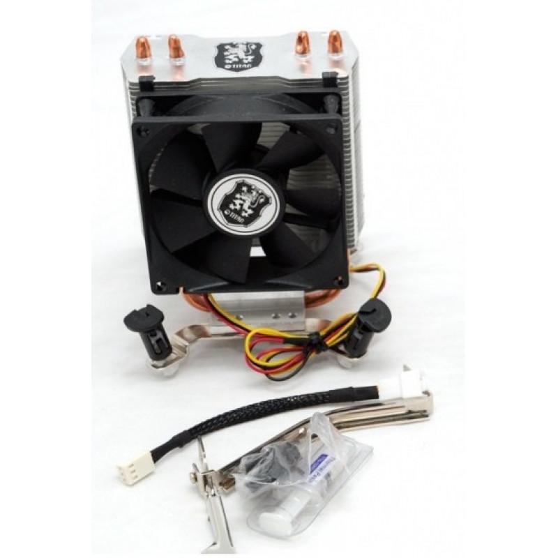 Устройство охлаждения(кулер) Titan TTC-NC65TX(RB) Soc-AM4/AM3+/1150/1151/1200 3-pin 18-26dB Al+Cu 105W Ret