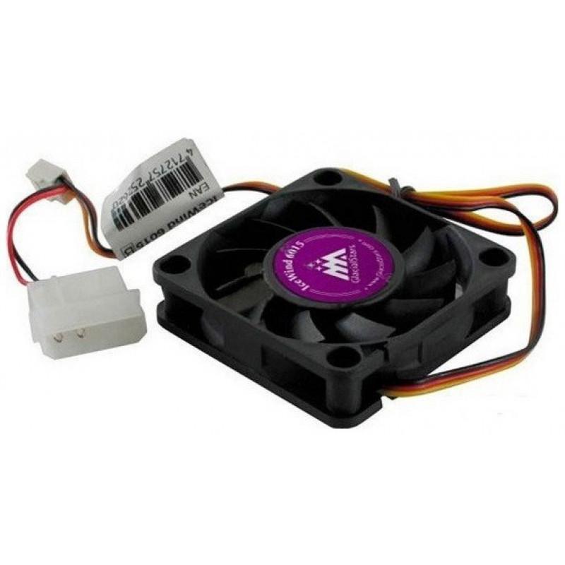 Вентилятор Glacialtech IceWind 6015 60x60x15mm 3-pin 4-pin (Molex)25dB 36gr Bulk