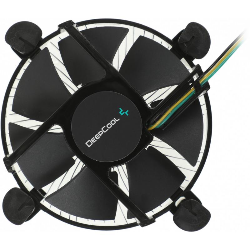 Устройство охлаждения(кулер) Deepcool CK-11509 Soc-1200/1150/1151/1155 3-pin 27dB Al 65W 147gr Ret