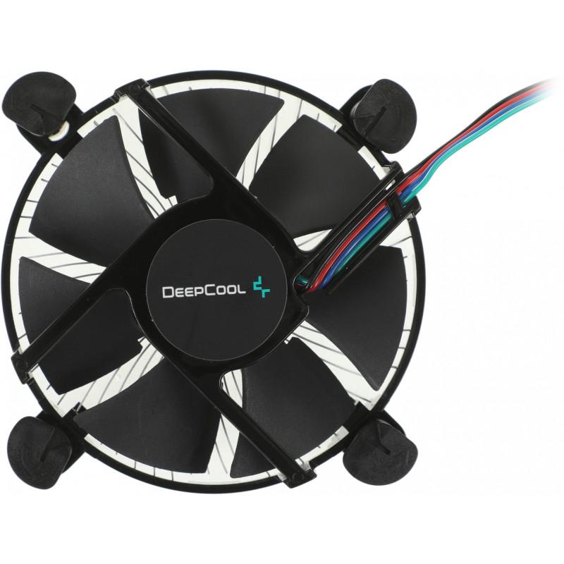 Устройство охлаждения(кулер) Deepcool CK-11509 PWM Soc-1200/1150/1151/1155 4-pin 18-31dB Al 65W 147gr Ret