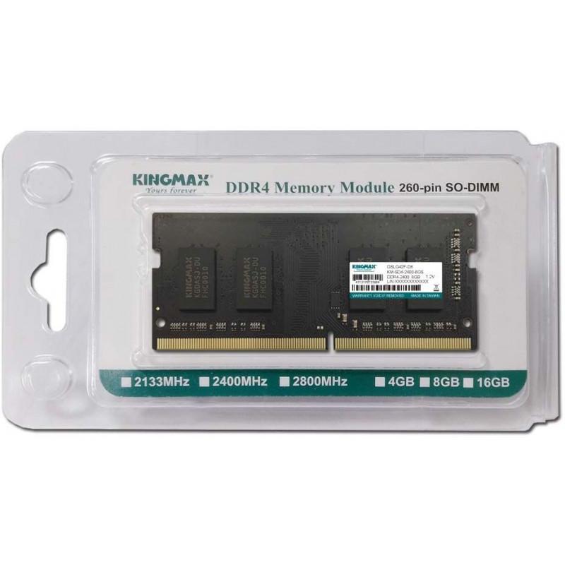 Память DDR4 8Gb 2400MHz Kingmax KM-SD4-2400-8GS RTL PC4-19200 CL17 SO-DIMM 260-pin 1.2В dual rank