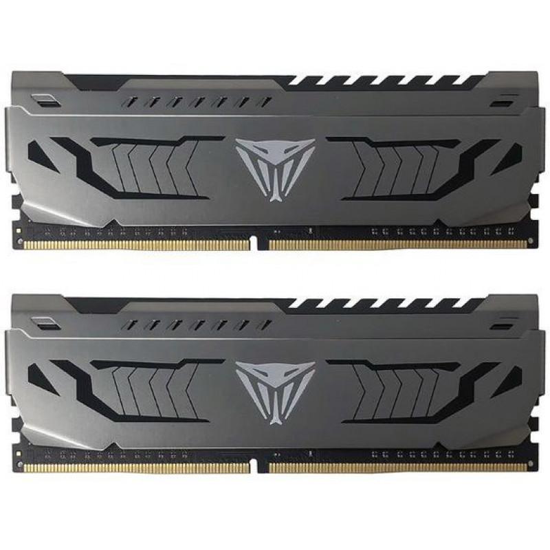 Память DDR4 2x8Gb 4133MHz Patriot PVS416G413C9K Viper Steel RTL PC4-33000 CL19 DIMM 288-pin 1.35В single rank