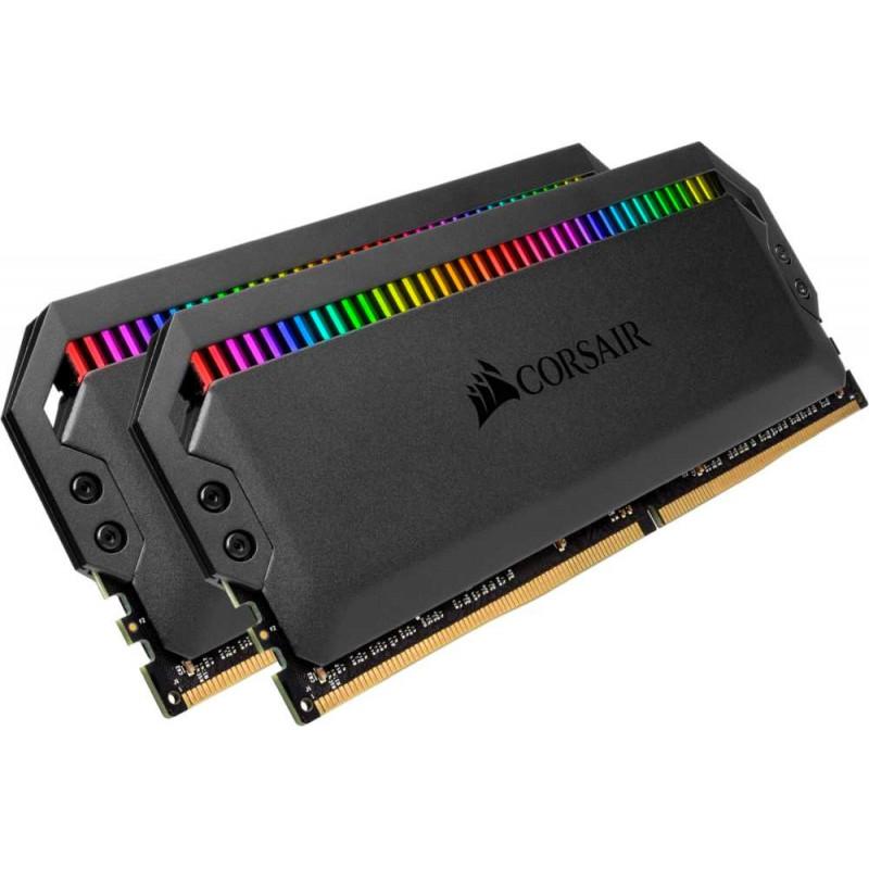 Память DDR4 2x8Gb 3200MHz Corsair CMT16GX4M2C3200C16 DOMINATOR PLATINUM RGB RTL PC4-25600 CL16 DIMM 288-pin 1.35В