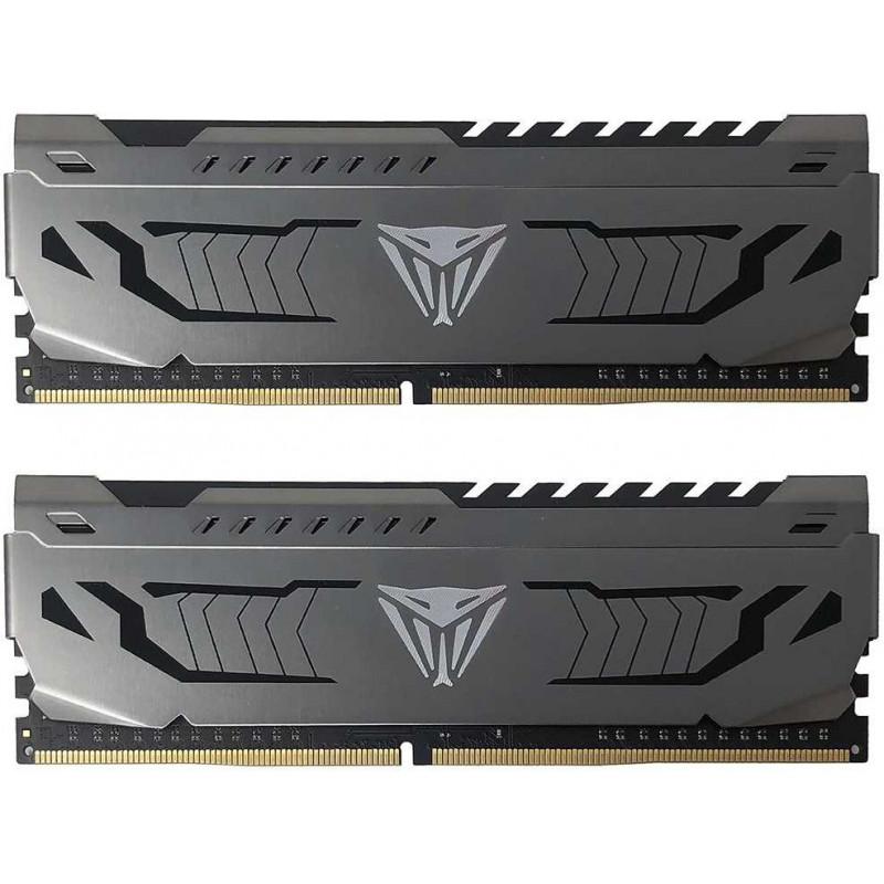Память DDR4 2x8Gb 3600MHz Patriot PVS416G360C7K Viper Steel RTL PC4-28800 CL17 DIMM 288-pin 1.35В dual rank