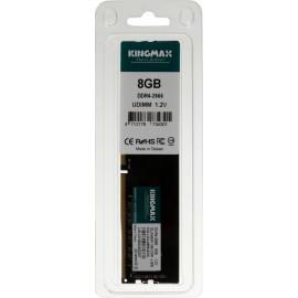 Память DDR4 8Gb 2666MHz Kingmax KM-LD4-2666-8GS RTL PC4-21300 CL19 DIMM 288-pin 1.2В