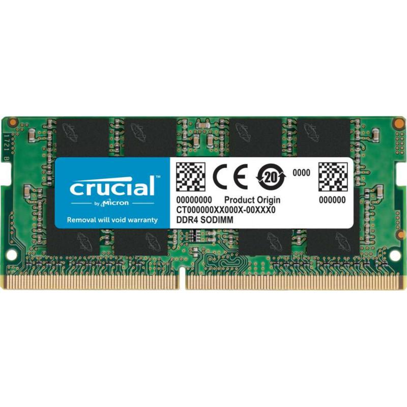 Память DDR4 8Gb 2666MHz Crucial CT8G4SFRA266.C8FE RTL PC4-21300 CL19 SO-DIMM 260-pin 1.2В single rank