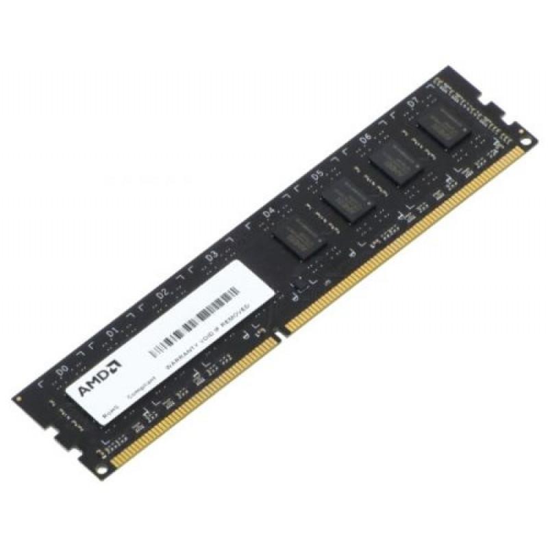 Память DDR3 8Gb 1600MHz AMD R538G1601U2SL-U RTL PC3-12800 CL11 LONG DIMM 240-pin 1.35В