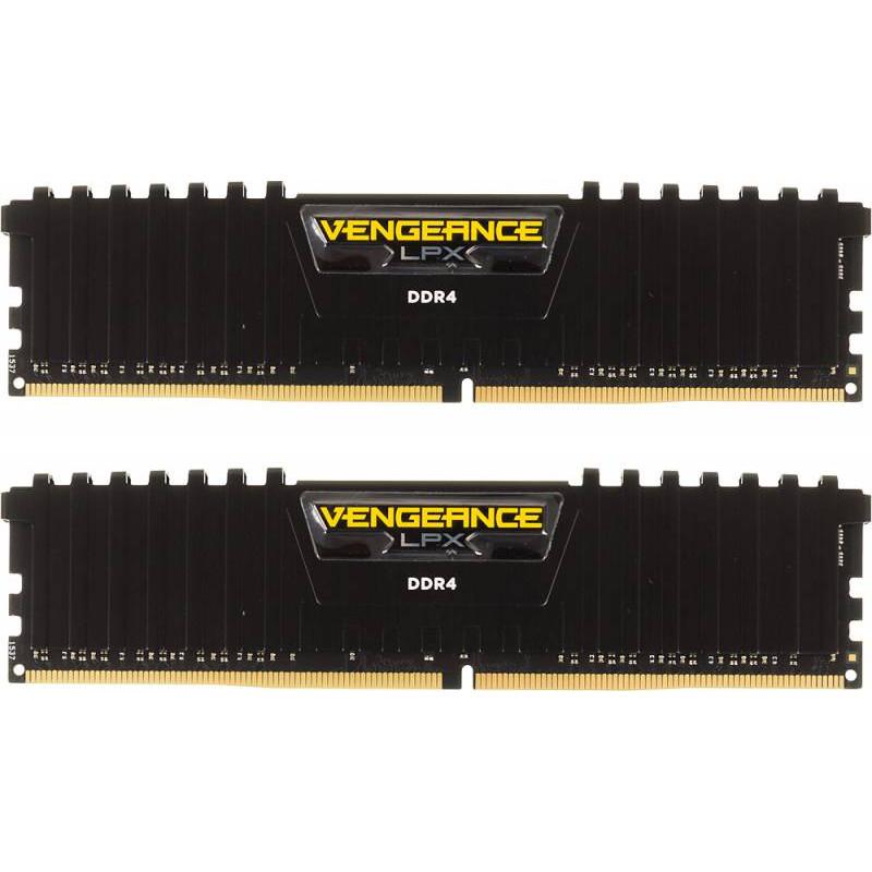 Память DDR4 2x4Gb 2400MHz Corsair CMK8GX4M2A2400C14 Vengeance LPX RTL PC4-19200 CL14 DIMM 288-pin 1.2В