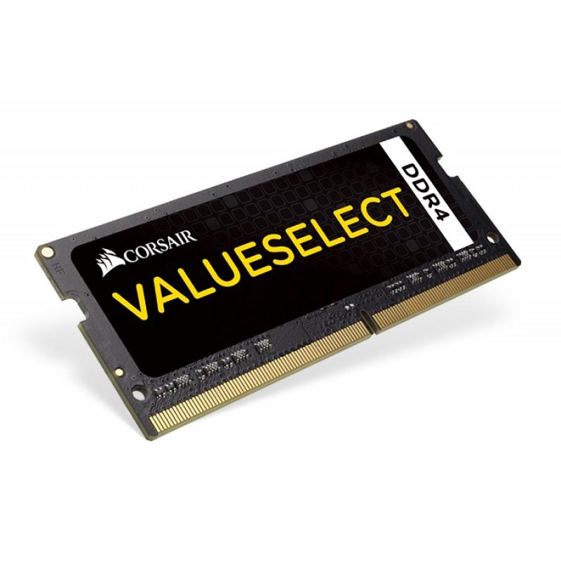 Память DDR4 2x4Gb 2133MHz Corsair CMSO8GX4M2A2133C15 RTL PC4-17000 CL15 SO-DIMM 260-pin 1.2В