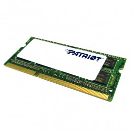 Память DDR3L 8Gb 1600MHz Patriot PSD38G1600L2S RTL PC3-12800 CL11 SO-DIMM 204-pin 1.35В dual rank