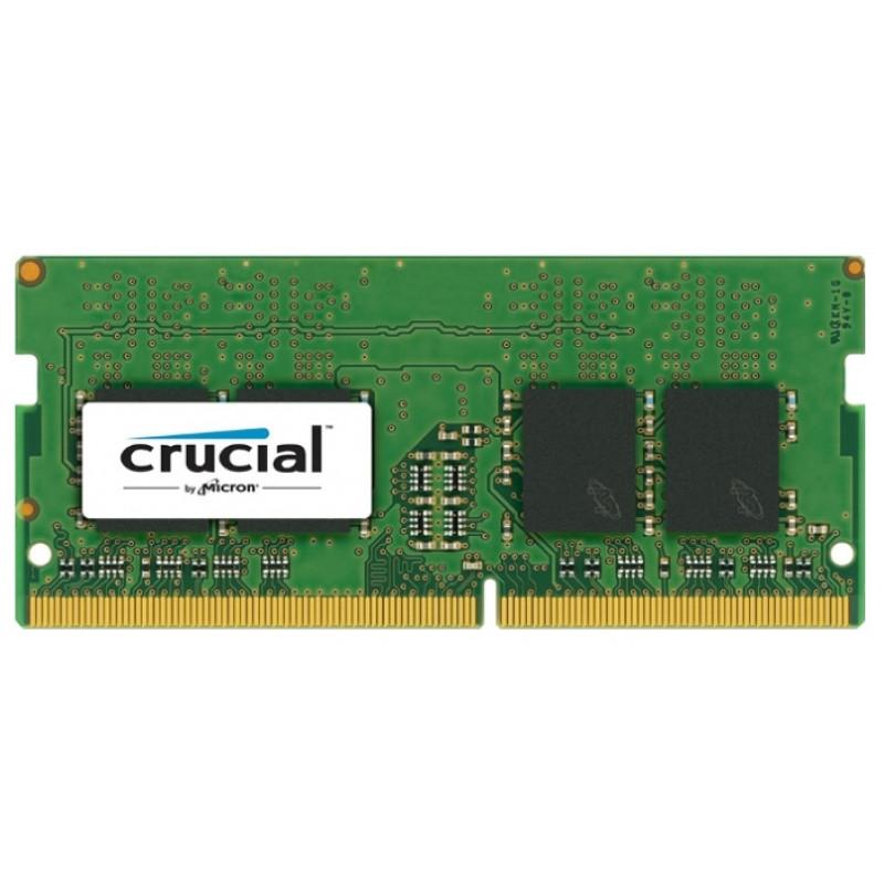 Память DDR4 16Gb 2400MHz Crucial CT16G4SFD824A RTL PC4-19200 CL17 SO-DIMM 260-pin 1.2В quad rank