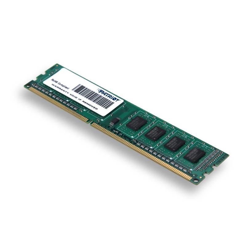 Память DDR3 4Gb 1600MHz Patriot PSD34G160081 RTL PC3-12800 CL11 DIMM 240-pin 1.5В