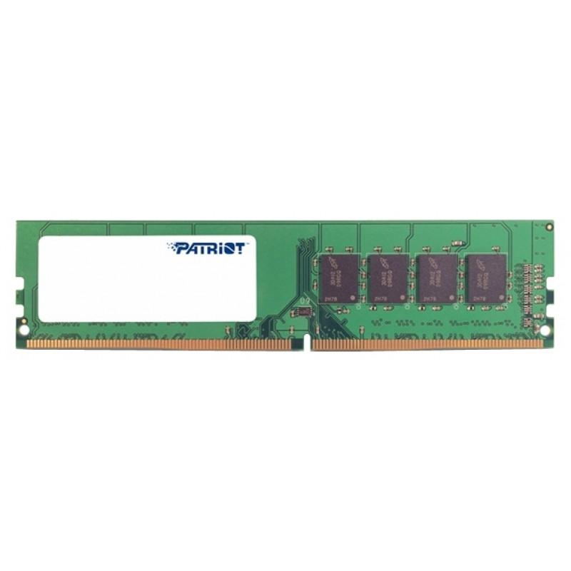 Память DDR4 4Gb 2400MHz Patriot PSD44G240082 RTL PC4-19200 CL17 DIMM 288-pin 1.2В
