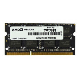 Память DDR3 8Gb 1600MHz AMD R538G1601S2S-UO OEM PC3-12800 CL11 SO-DIMM 204-pin 1.5В
