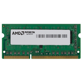 Память DDR3 4Gb 1600MHz AMD R534G1601S1S-UGO OEM PC3-12800 CL11 SO-DIMM 204-pin 1.5В