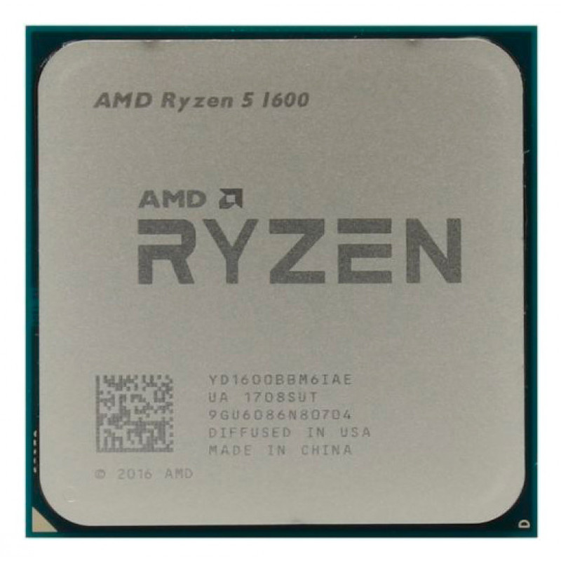 Процессор AMD Ryzen 5 1600 AM4 (YD1600BBAFBOX) (3.2GHz) Box