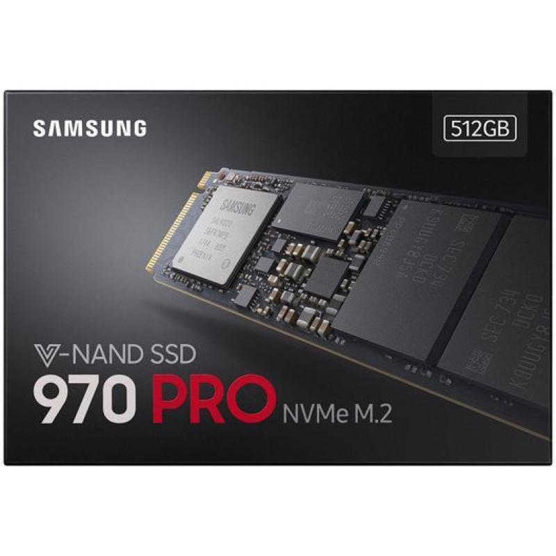 Накопитель SSD Samsung PCI-E x4 512Gb MZ-V7P512BW 970 PRO M.2 2280
