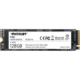 Накопитель SSD Patriot PCI-E x4 128Gb P300P128GM28 P300 M.2 2280