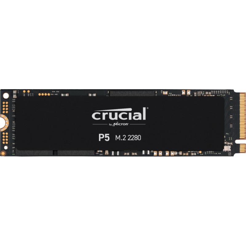 Накопитель SSD Crucial PCI-E x4 1000Gb CT1000P5SSD8 P5 M.2 2280