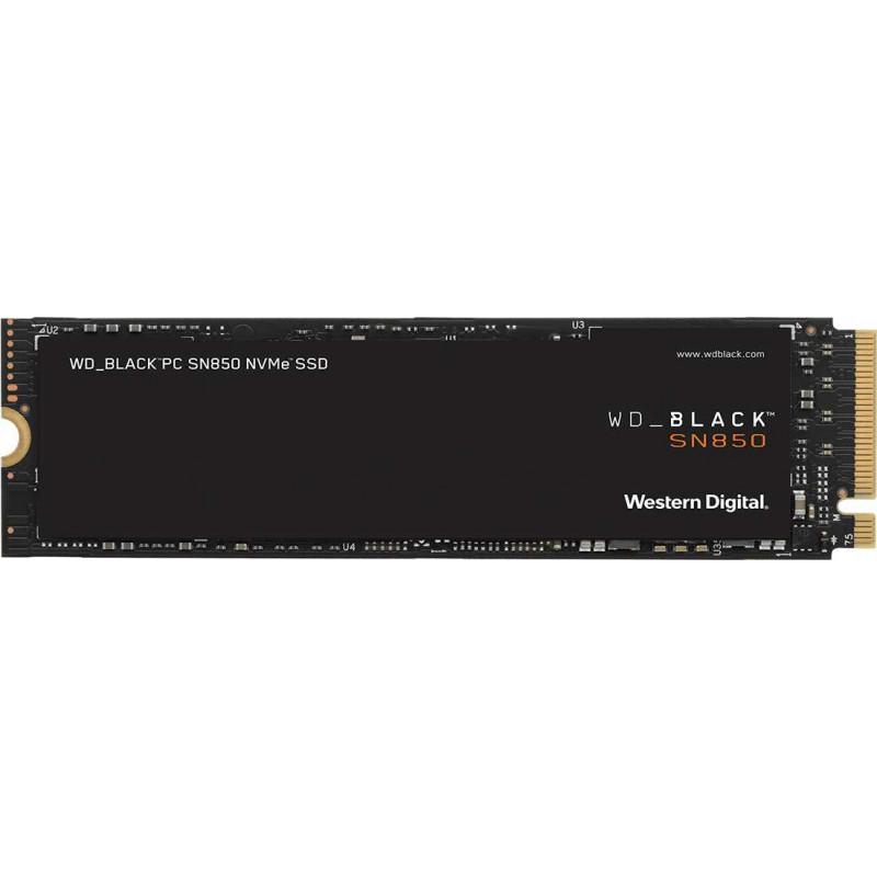 Накопитель SSD WD Original PCI-E x4 500Gb WDS500G1X0E Black SN850 M.2 2280