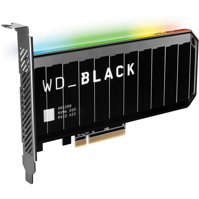 Накопитель SSD WD Original PCI-E x8 1Tb WDS100T1X0L Black AN1500 PCI-E AIC (add-in-card)