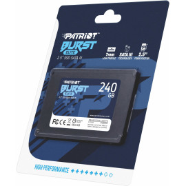 Накопитель SSD Patriot SATA III 240Gb PBE240GS25SSDR Burst Elite 2.5