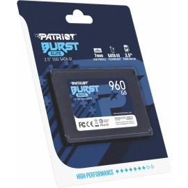 Накопитель SSD Patriot SATA III 960Gb PBE960GS25SSDR Burst Elite 2.5