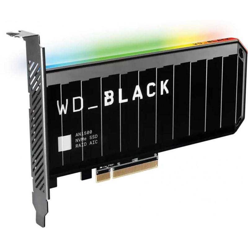 Накопитель SSD WD Original PCI-E x8 4Tb WDS400T1X0L Black AN1500 PCI-E AIC (add-in-card)