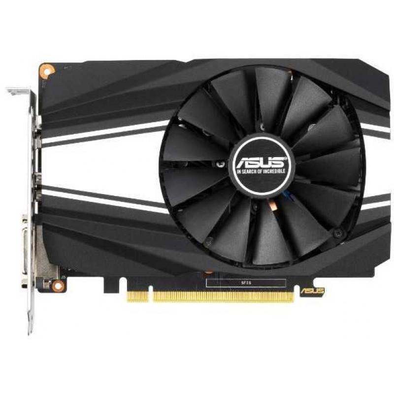 Видеокарта Asus PCI-E PH-GTX1660S-O6G nVidia GeForce GTX 1660SUPER 6144Mb 192bit GDDR6 1530/14002 DVIx1/HDMIx1/DPx1/HDCP Ret