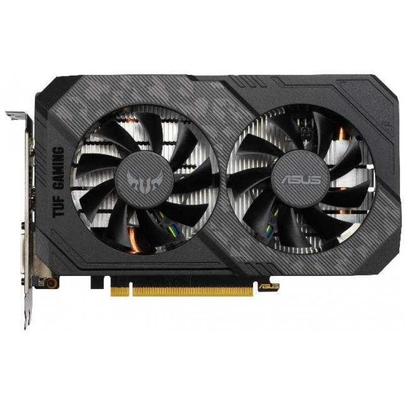 Видеокарта Asus PCI-E TUF-GTX1660S-6G-GAMING nVidia GeForce GTX 1660SUPER 6144Mb 192bit GDDR6 1530/14002 DVIx1/HDMIx1/DPx1/HDCP Ret