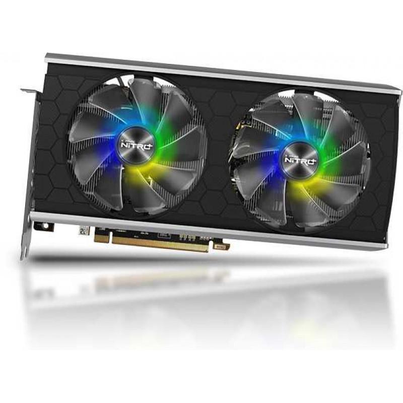Видеокарта Sapphire PCI-E 4.0 11295-05-20G NITRO+ RX 5500XT 8G SE AMD Radeon RX 5500XT 8192Mb 128bit GDDR6 1737/14400/HDMIx2/DPx2/HDCP Ret