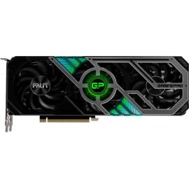 Видеокарта Palit PCI-E 4.0 PA-RTX3070 GAMINGPRO OC 8G V1 LHR NVIDIA GeForce RTX 3070 8192Mb 256 GDDR6 1500/14000/HDMIx1/DPx3/HDCP Ret