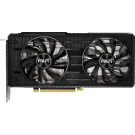 Видеокарта Palit PCI-E 4.0 PA-RTX3060Ti DUAL 8G V1 LHR NVIDIA GeForce RTX 3060Ti 8192Mb 256 GDDR6 1410/14000/HDMIx1/DPx3/HDCP Ret