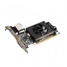 Видеокарта Gigabyte PCI-E GV-N710D3-2GL NVIDIA GeForce GT 710 2048Mb 64 DDR3 954/1800 DVIx1/HDMIx1/CRTx1/HDCP Ret low profile