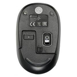 Мышь Оклик 505MW черный оптическая (1000dpi) беспроводная USB для ноутбука (3but)