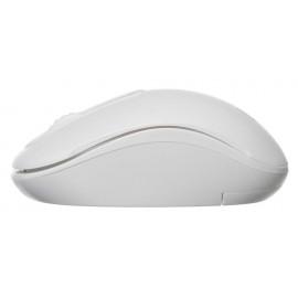 Мышь Оклик 505MW белый оптическая (1000dpi) беспроводная USB для ноутбука (3but)