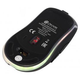 Мышь Оклик 975GW SWAMP черный оптическая (1600dpi) беспроводная USB (6but)