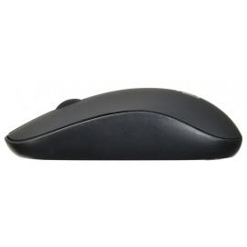 Мышь Оклик 515MW черный оптическая (1000dpi) беспроводная USB для ноутбука (3but)