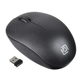 Мышь Оклик 685MW черный оптическая (1200dpi) беспроводная USB (2but)