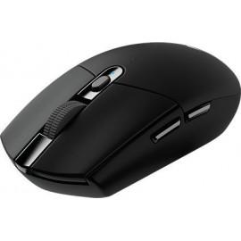 Мышь Logitech G305 Lightspeed черный оптическая (12000dpi) беспроводная USB (5but)