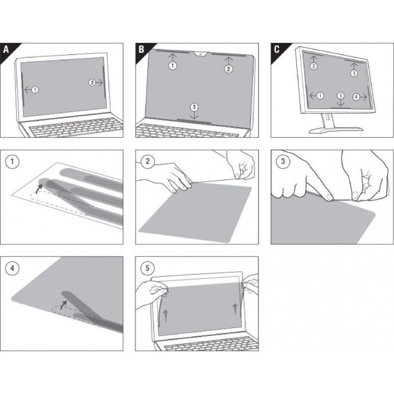Экран защиты информации для ноутбука 3M PFNAP006 (7100011159) 11.6