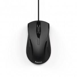 Мышь Hama MC-200 черный оптическая (1000dpi) USB (2but)