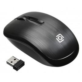 Мышь Оклик 525MW черный оптическая (1000dpi) беспроводная USB для ноутбука (3but)