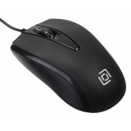 Мышь Оклик 325M черный оптическая (1000dpi) USB для ноутбука (3but)