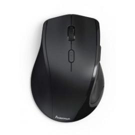 Мышь Hama Riano черный оптическая (1600dpi) беспроводная USB для ноутбука (5but)