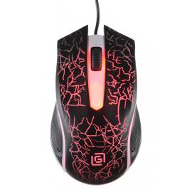 Мышь Оклик 395M SHADOW черный оптическая (1000dpi) USB (3but)