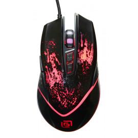 Мышь Оклик 888G INFINITY черный оптическая (3200dpi) USB (6but)